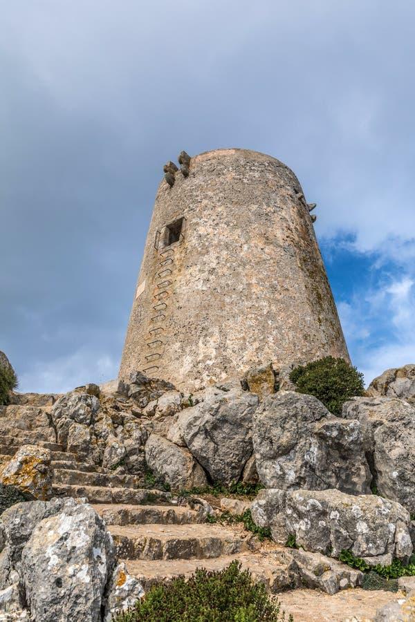 Albercutx-Wachturm stockbilder