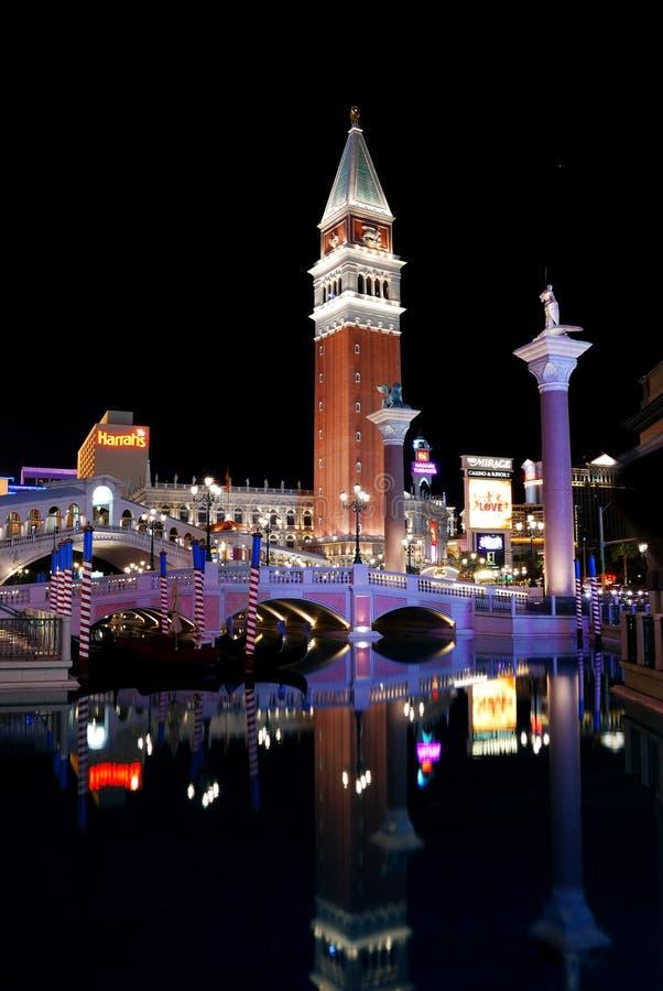 Albergo di lusso di Las Vegas fotografie stock libere da diritti