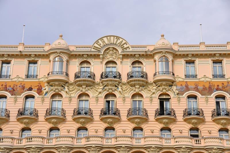 Albergo di lusso L'Hermitage a Monte Carlo, Monaco fotografia stock