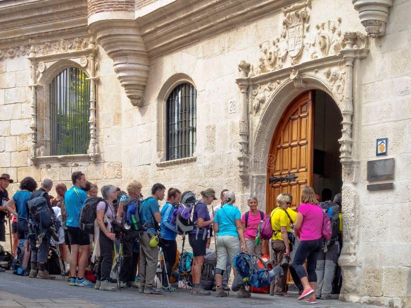 Albergue Λα Casa del Cubo - Burgos στοκ φωτογραφίες με δικαίωμα ελεύθερης χρήσης