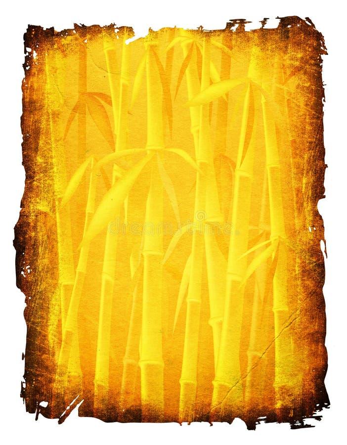 Alberi di bambù illustrazione di stock