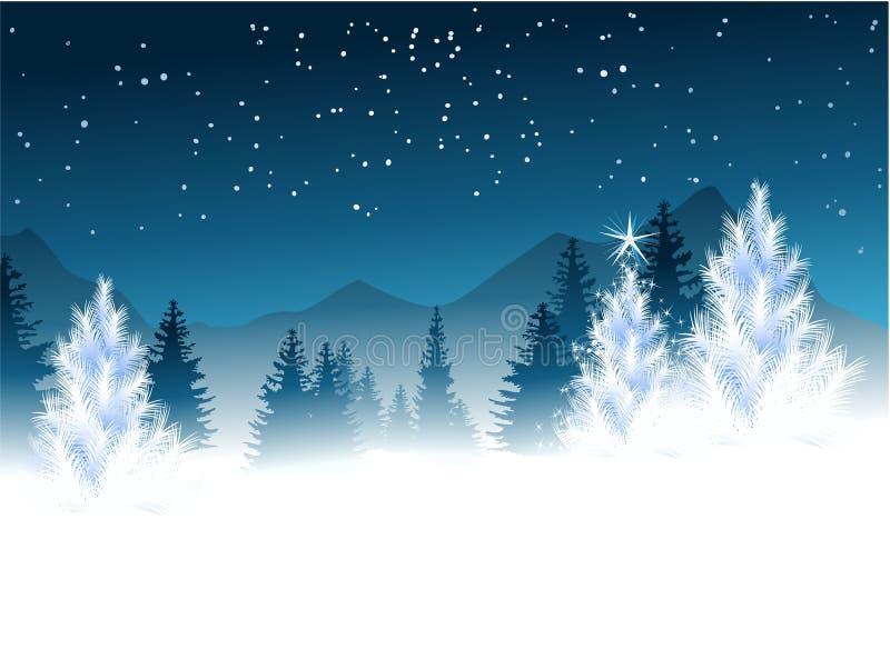 Alberi di Natale royalty illustrazione gratis
