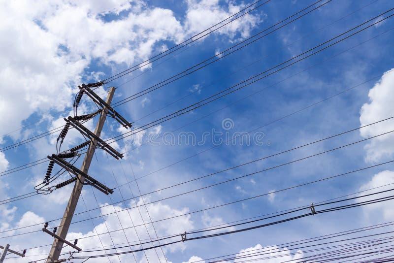 Alberino elettrico immagini stock libere da diritti
