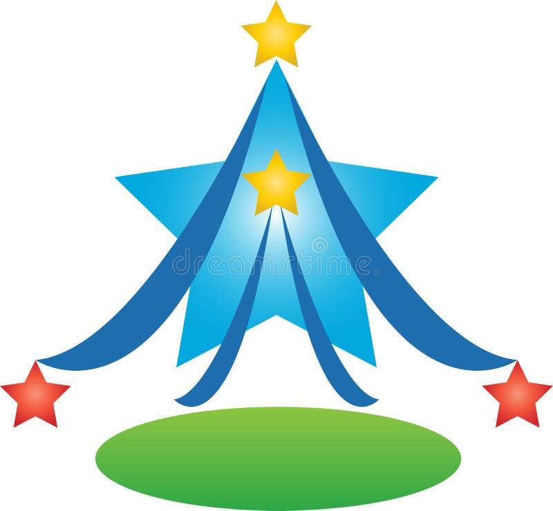 Albero della stella royalty illustrazione gratis