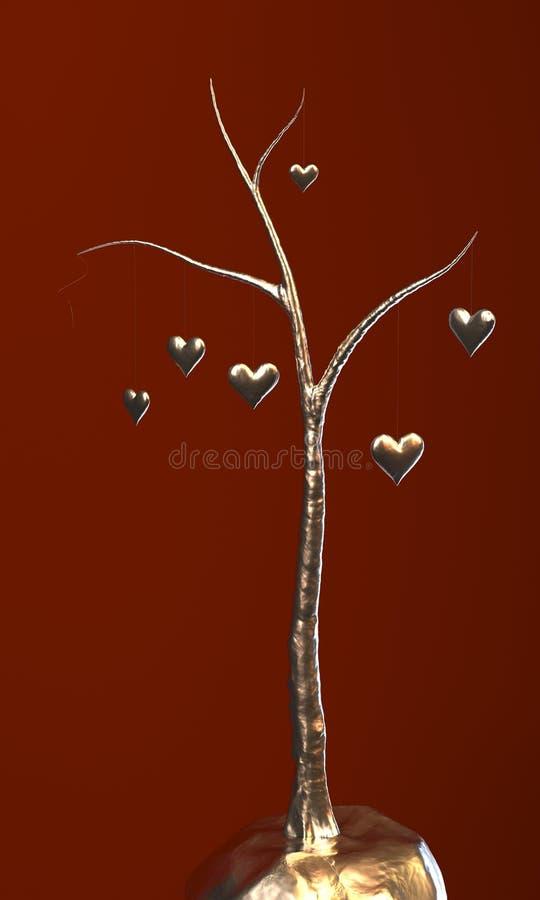 Albero di amore immagine stock