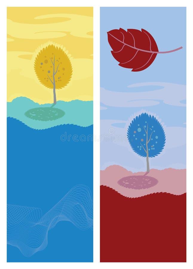 Download Albero Di Autunno. Paesaggio Del Fumetto Di Vettore Illustrazione Vettoriale - Illustrazione di verde, autunno: 30825741