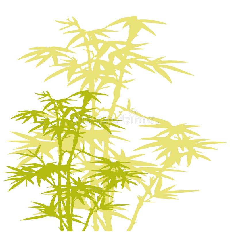 Albero di bambù illustrazione di stock