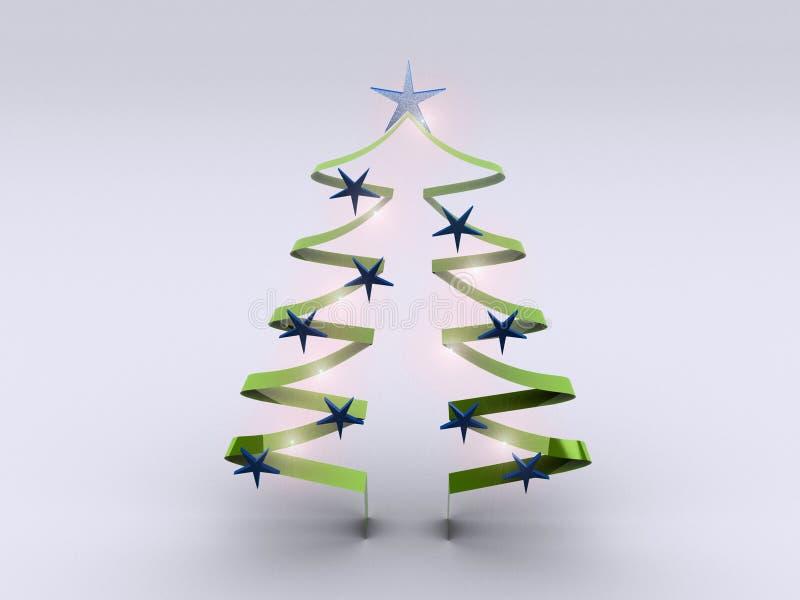 Albero di Natale 1 illustrazione vettoriale