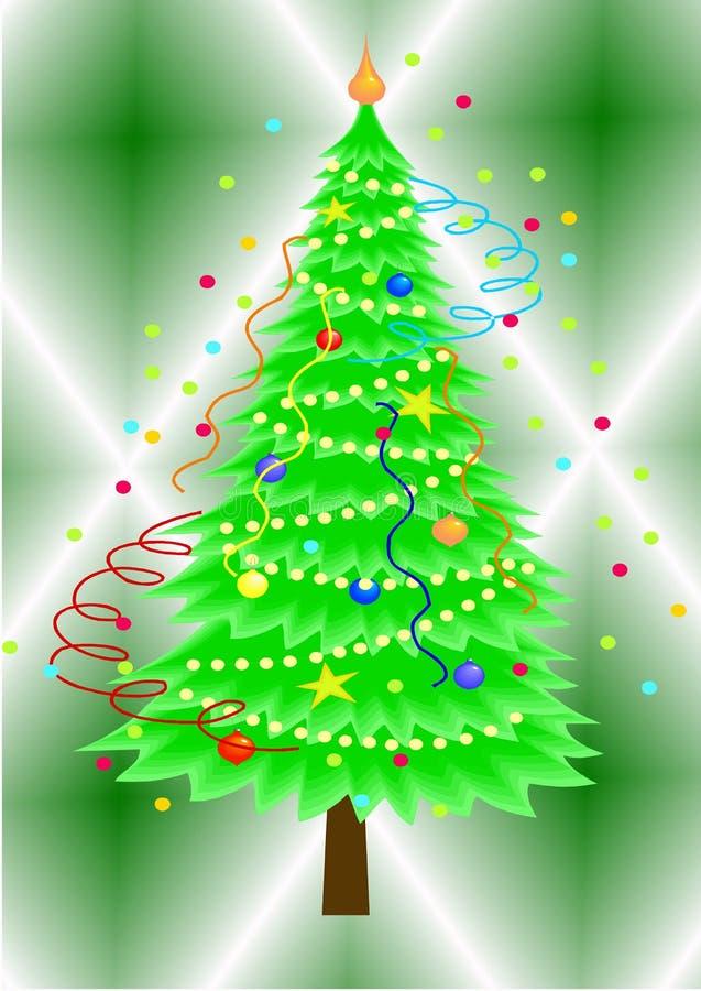 Albero di Natale #1 fotografie stock libere da diritti