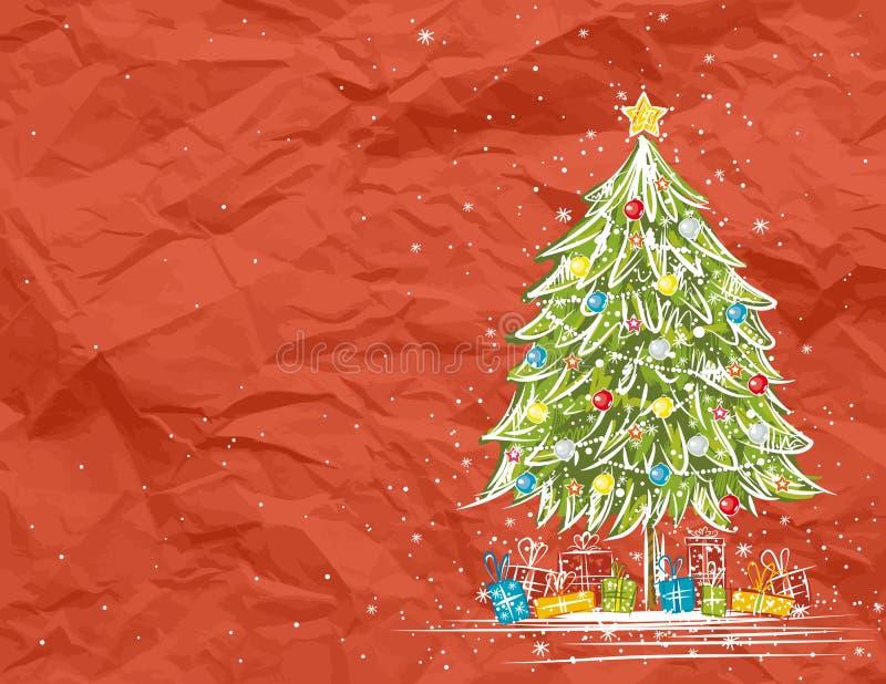 Albero di Natale,   royalty illustrazione gratis