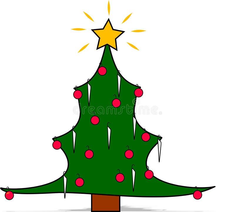 Albero di Natale illustrazione di stock