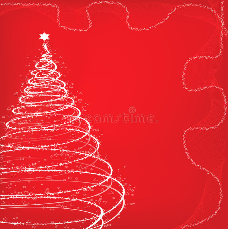 Albero di Natale illustrazione vettoriale