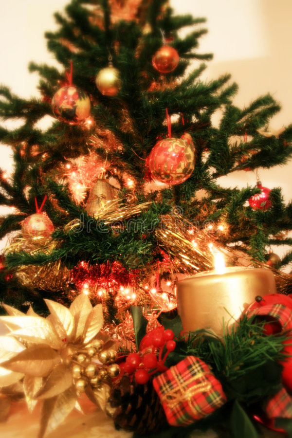 Download Albero di Natale fotografia stock. Immagine di desideri - 3877052