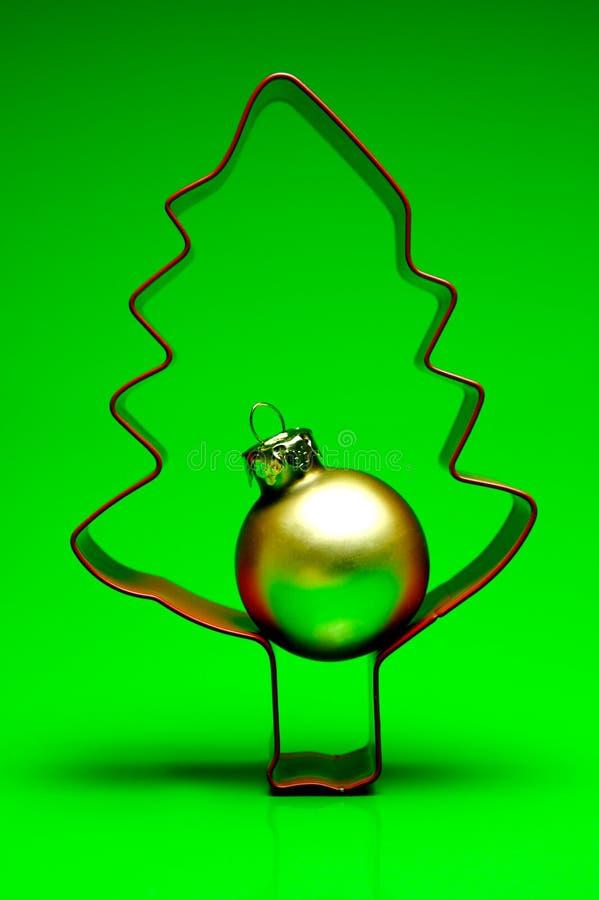Download Albero di Natale fotografia stock. Immagine di rosso, natale - 7306684