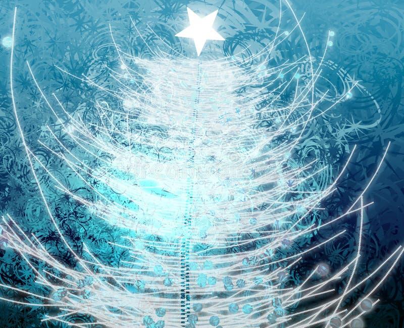 Download Albero di Natale illustrazione di stock. Illustrazione di lucido - 7307168