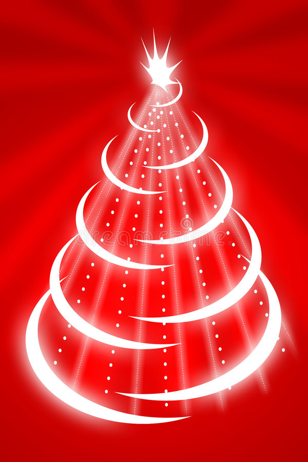 Download Albero di Natale illustrazione di stock. Illustrazione di inchiostro - 7323256