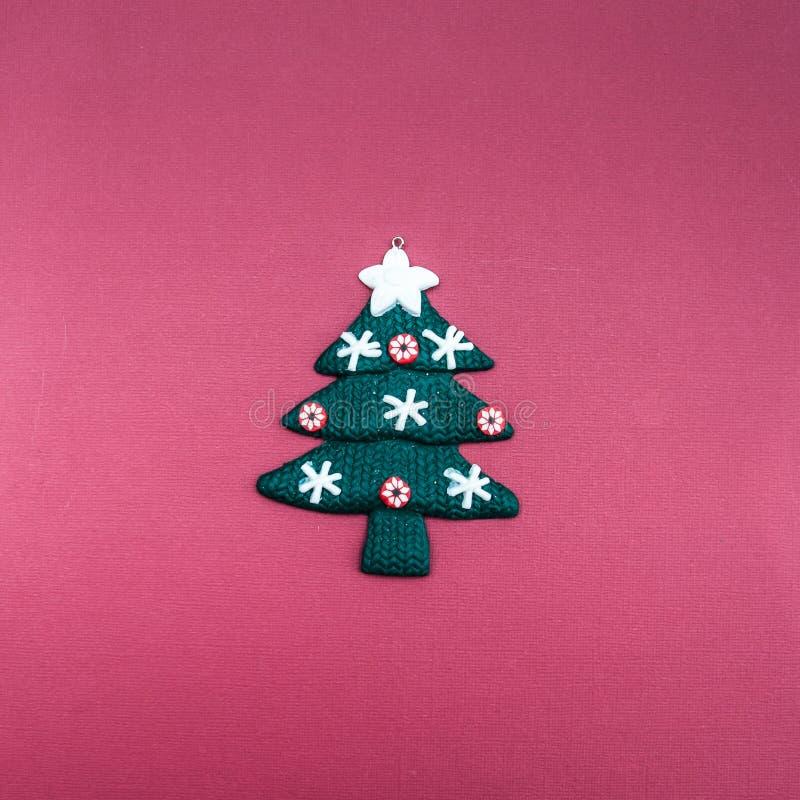 Albero di Natale alla moda immagine stock libera da diritti
