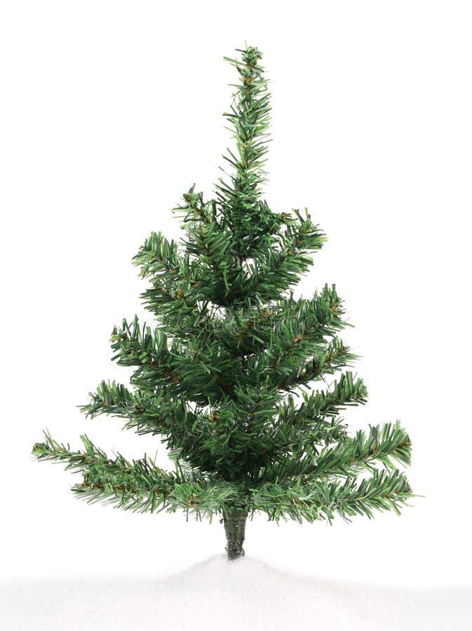 Albero di Natale artificiale. fotografia stock