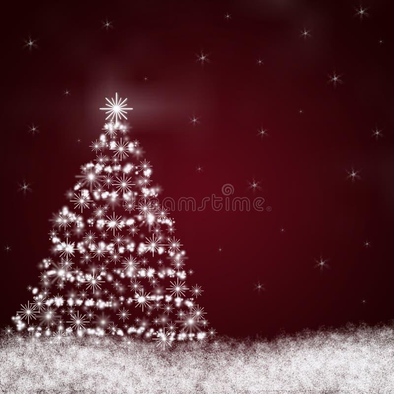 Albero di Natale astratto fotografie stock libere da diritti