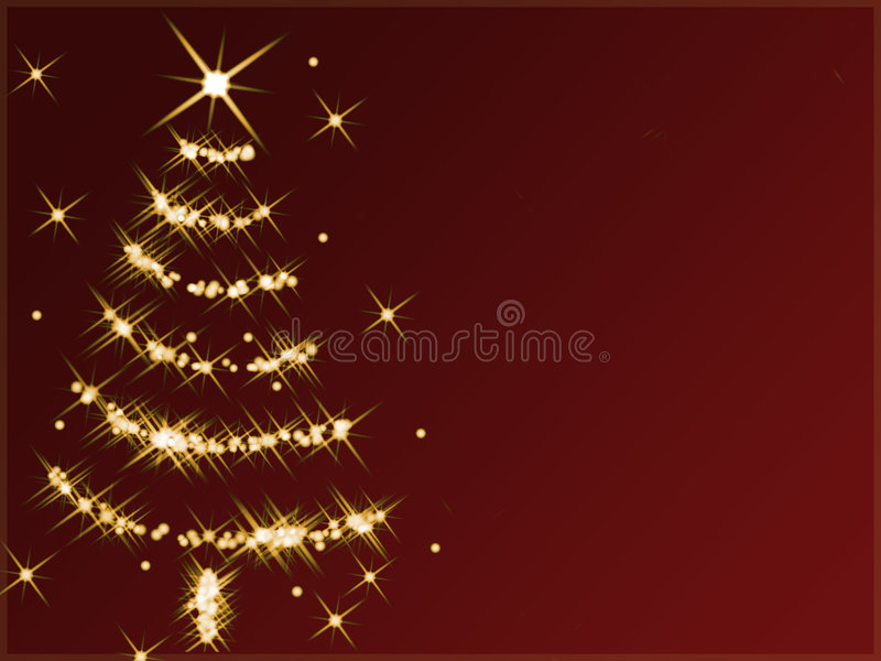 Download Albero di Natale astratto illustrazione di stock. Illustrazione di scintillio - 7316002