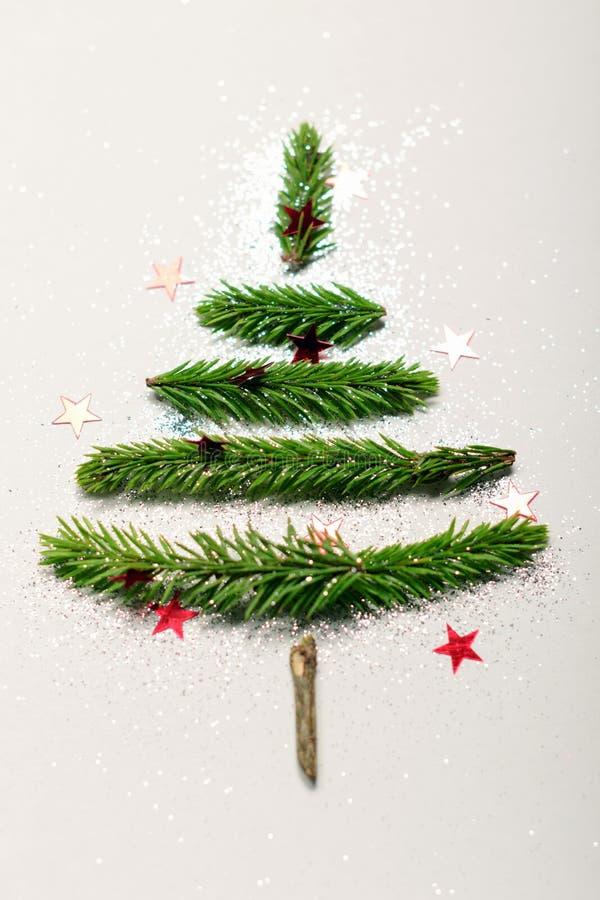 Albero di Natale Concetto fotografie stock