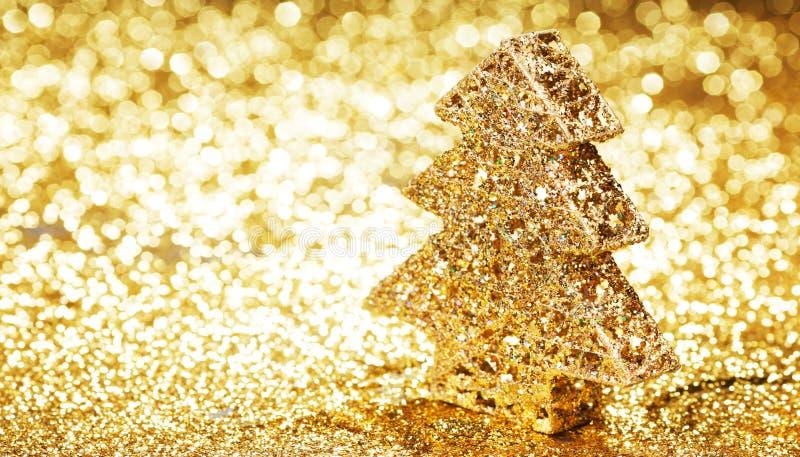 Albero di Natale decorativo fotografia stock