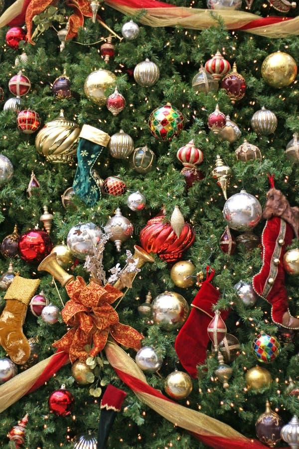 Albero di Natale del viale 2 immagine stock
