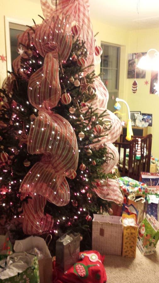 Albero di Natale della menta piperita immagini stock libere da diritti