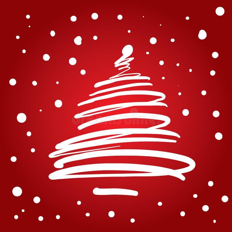 Albero di Natale (illustrazione) royalty illustrazione gratis