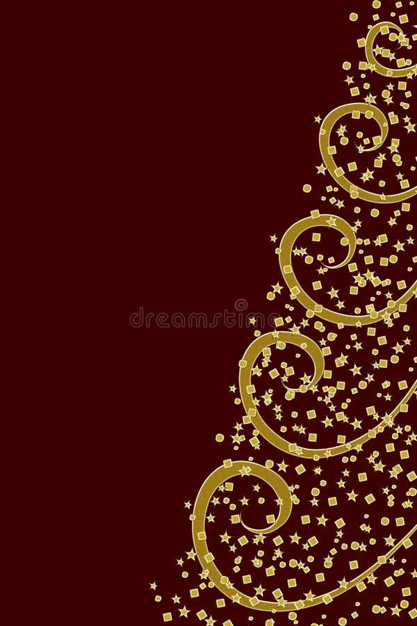 Albero di Natale stilizzato illustrazione vettoriale