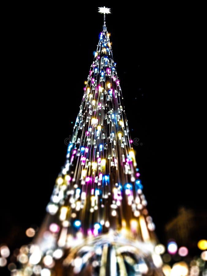 Albero di Natale variopinto immagine stock libera da diritti
