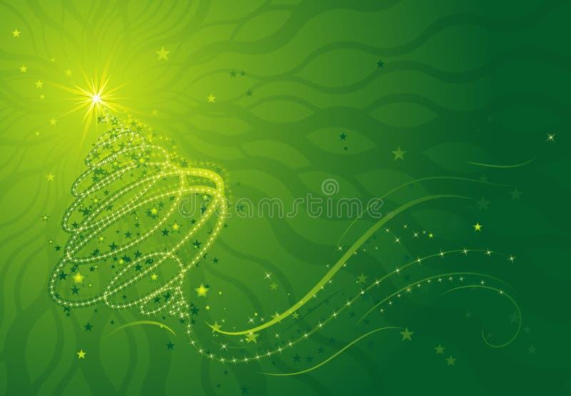 Albero di Natale, vettore illustrazione di stock