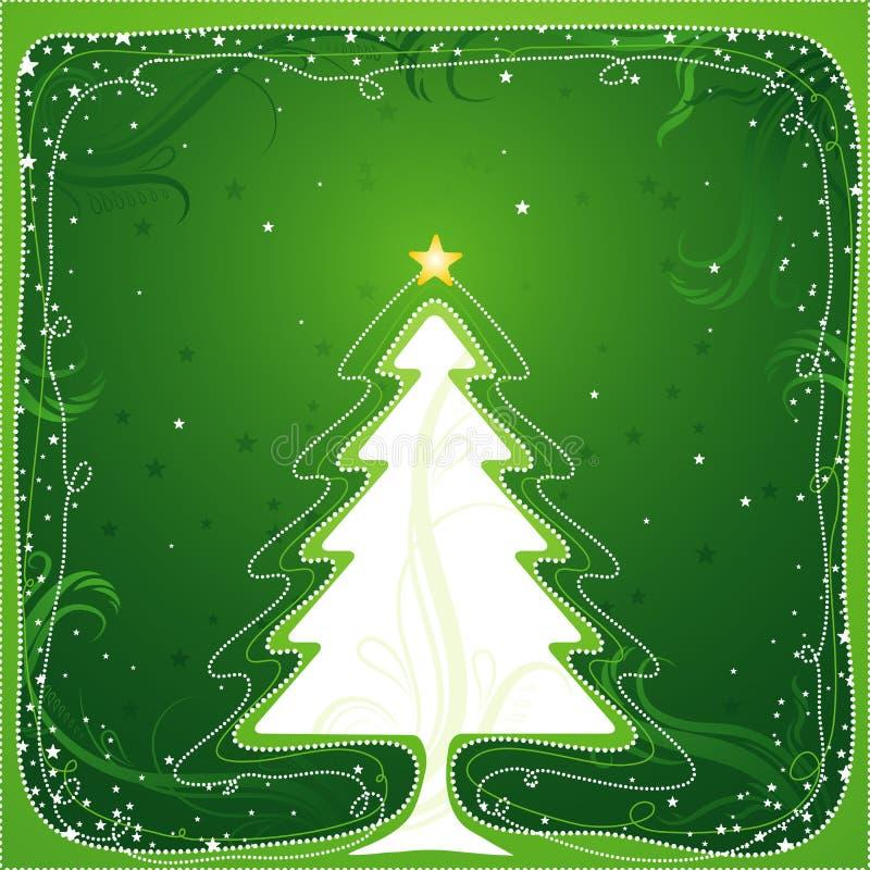 Albero di Natale, vettore royalty illustrazione gratis