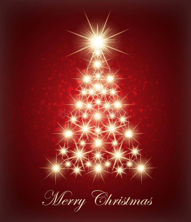 Albero di Natale Vettore royalty illustrazione gratis