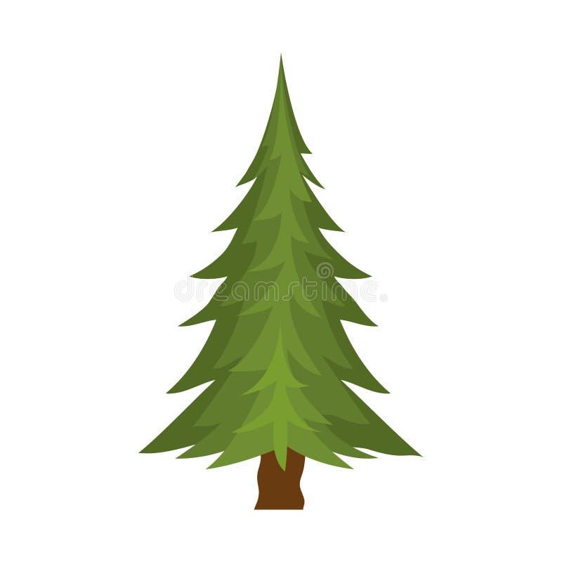 Albero di pino royalty illustrazione gratis