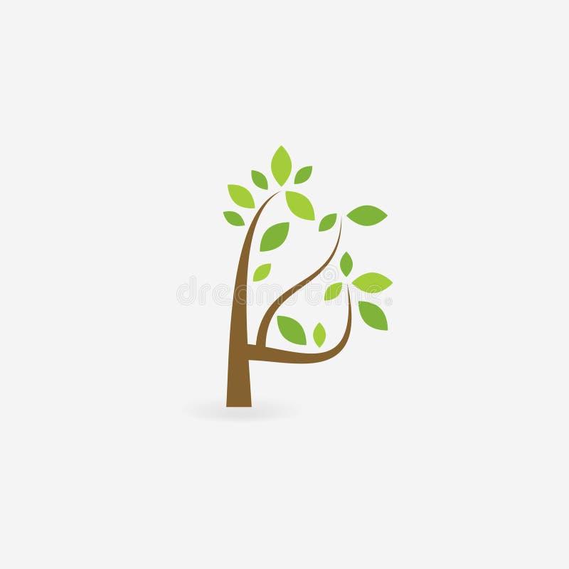 Albero e radici di vettore piante Illustrazione di vettore ENV 10 royalty illustrazione gratis