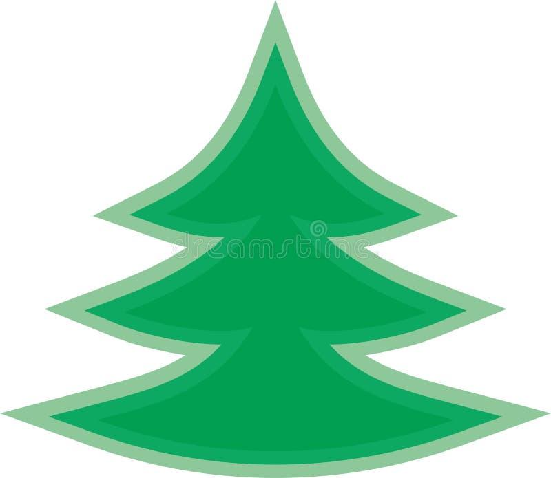 Albero facile verde royalty illustrazione gratis