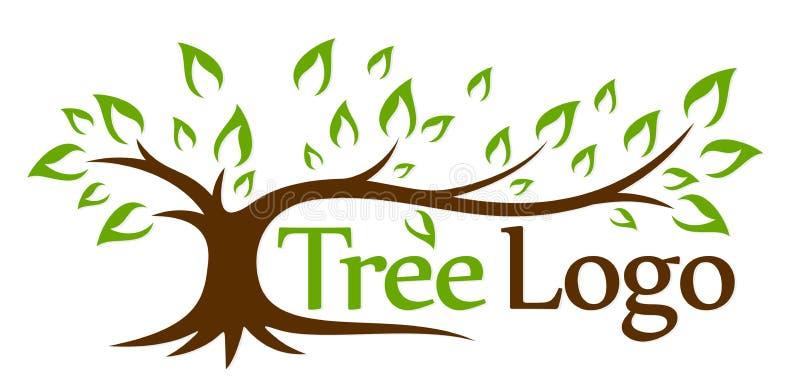 Albero verde di marchio royalty illustrazione gratis