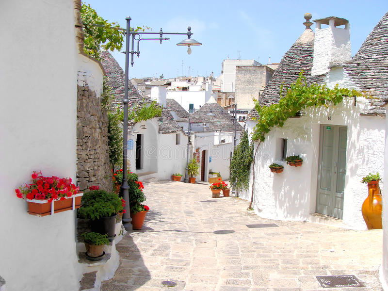 Alberobello photos stock