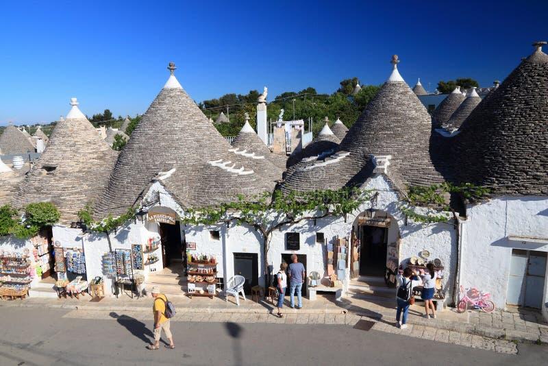 Alberobello imagen de archivo libre de regalías
