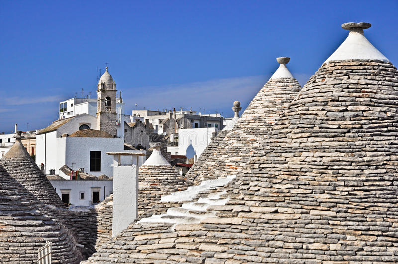 Download Alberobello town stock image. Image of nobody, city, town - 26635055