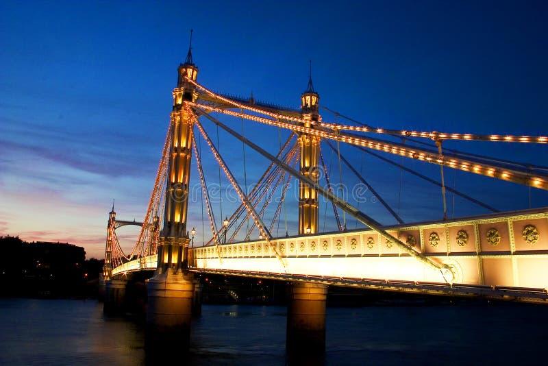 Albert Bridge royalty-vrije stock afbeeldingen
