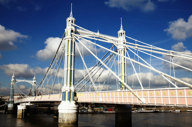 Albert Bridge lizenzfreie stockfotografie