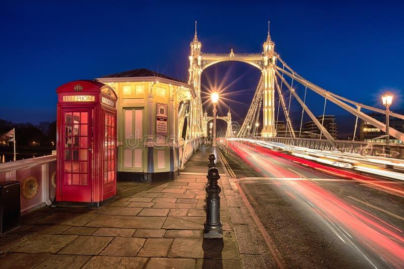 Albert Bridge fotos de stock