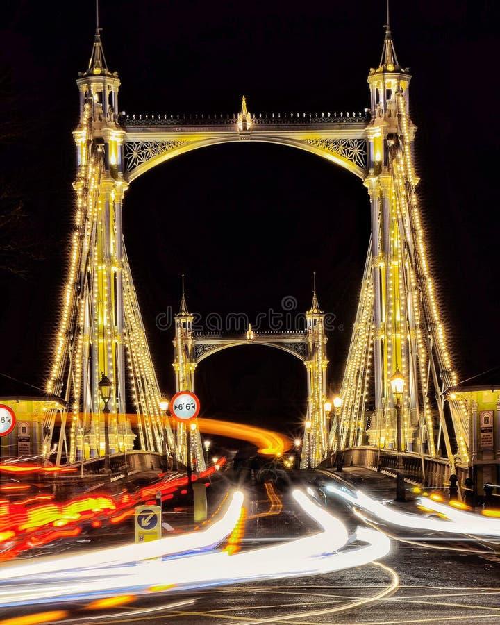 Albert Bridge stock fotografie