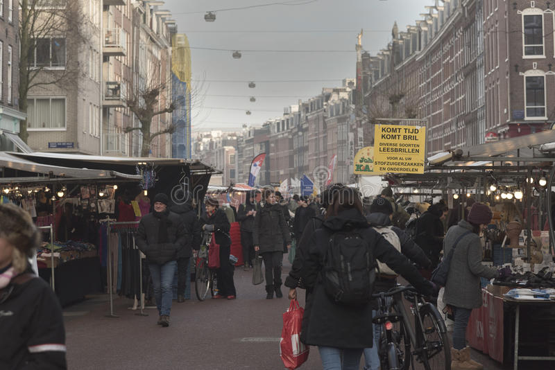 Albert Cuyp Market Amsterdam photos stock