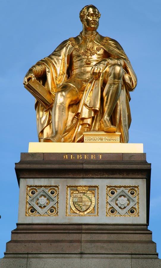 Albert-Denkmal stockfotos
