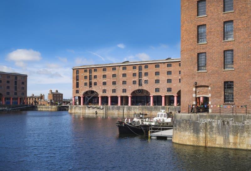 Albert Dock real, Liverpool, Reino Unido foto de stock royalty free
