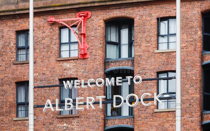 The Albert Dock stock photos