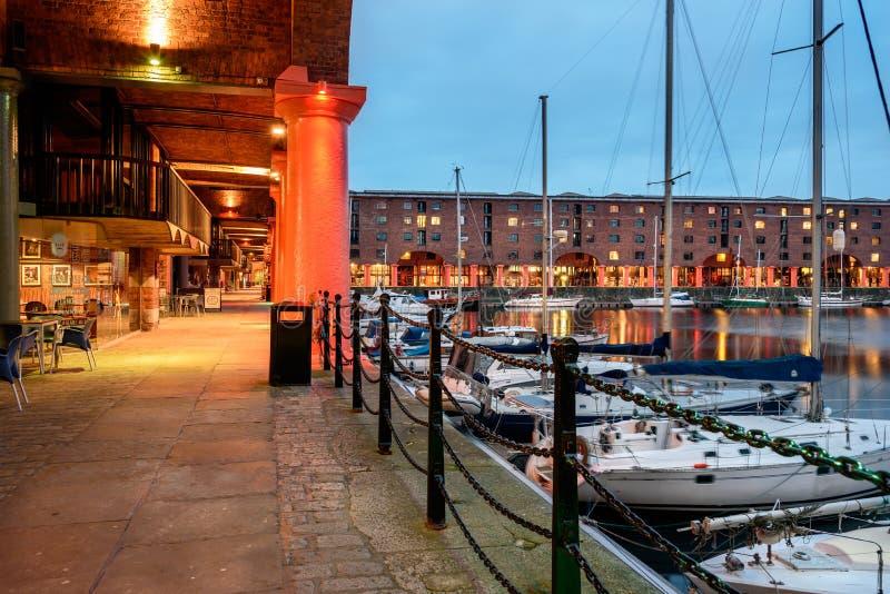 Albert doki, Liverpool, UK obrazy royalty free